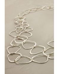 Anthropologie | Metallic Artemis Linked Necklace | Lyst