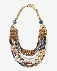 Lizzie Fortunato | Multicolor Medina Multi Layer Necklace | Lyst