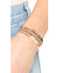 Pascale Monvoisin - Brown Clemence Wrap Bracelet - Lyst