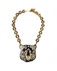 Lulu Frost | Metallic Bear Necklace | Lyst