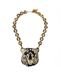 Lulu Frost - Metallic Bear Necklace - Lyst