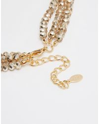 ALDO - Metallic Wawota Necklace - Lyst