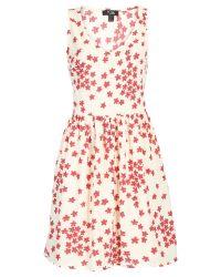 Cutie - Multicolor Ditsy Daisy Print Dress - Lyst