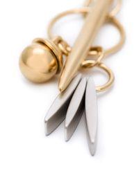 Chloé   Metallic Charm Pendant Necklace   Lyst