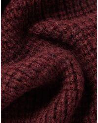 Belstaff - Red Heathleigh Scarf - Lyst