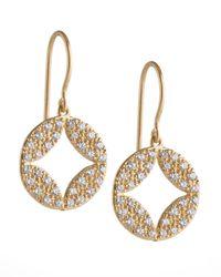 Jamie Wolf | Metallic Aladdin 18k Pave Diamond Earrings | Lyst