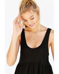 Truly Madly Deeply - Black Babydoll Tank Top - Lyst