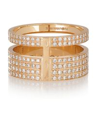 Repossi - Metallic Berbère 18-Karat Rose Gold Diamond Ring - Lyst
