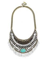 BaubleBar | Black Turquoise Oirpata Bib | Lyst