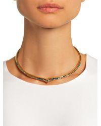 Aurelie Bidermann - Metallic Apache Gold-Plated Necklace - Lyst