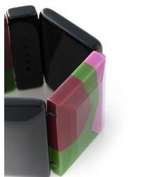 Marni | Black Elasticated Detail Cuff | Lyst