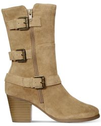 Easy Spirit | Brown Kortina Suede Boots | Lyst
