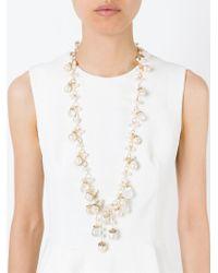 Rosantica - White 'pinoli' Necklace - Lyst