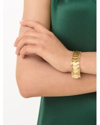 Kirat Young   Metallic Coin Link Bracelet   Lyst