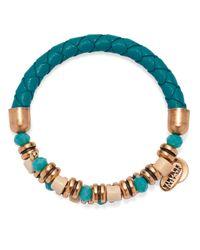 ALEX AND ANI | Blue Vintage 66 Adventuress Wrap Bracelet | Lyst