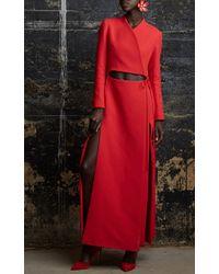 Rosie Assoulin | Red Enamel Single Flower Earring | Lyst
