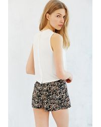 Cooperative - White Reverse Button-down Tank Top - Lyst