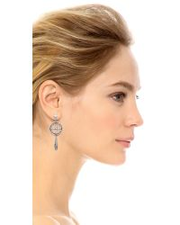 Pamela Love | Metallic Sueno Earrings - Silver | Lyst