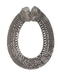Lizzie Fortunato | Metallic Rhodium Cosmic View Ii Necklace | Lyst