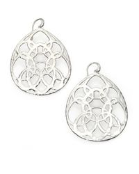 Ippolita | Metallic Wonderland Sterling Silver Large Lacework Teardrop Earrings | Lyst