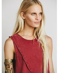 Free People - Red We The Free Womens We The Free Washed Bungalow Tank - Lyst