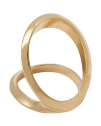 Maiyet - Metallic Double Open Arch Ring - Lyst
