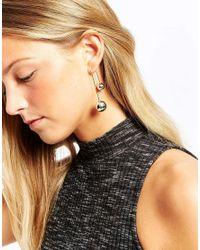 ALDO | Metallic Clarastella Through & Thorugh Earrings | Lyst