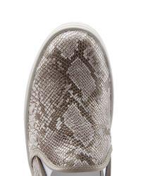 Hogan Rebel - Multicolor Slip On Leather Sneakers - Animal Prints - Lyst
