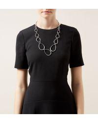 Hobbs | Metallic Lucy Necklace | Lyst