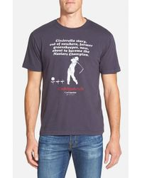 Red Jacket | Blue 'caddyshack - Cinderella Story' Graphic T-shirt for Men | Lyst