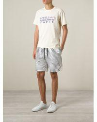 KENZO   Natural ' Paris' T-Shirt for Men   Lyst