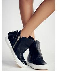 Free People   Black A.s.98 Womens Solera Hi Top Sneaker   Lyst