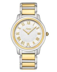 Fendi | Metallic 'classico' Round Bracelet Watch | Lyst
