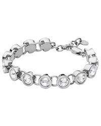 Dyrberg/Kern | Metallic Dyrberg/kern Innis Swarovski Crystal Bracelet | Lyst