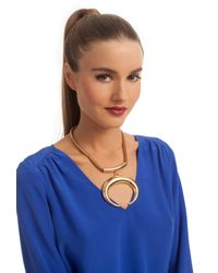 Trina Turk | Pink Reversible Horn Necklace | Lyst