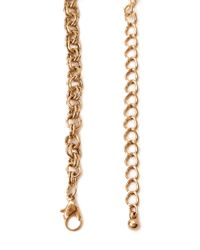 Forever 21 | Metallic Statement Chain Bib Necklace | Lyst