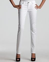 Citizens of Humanity - White Ava Straight Leg Jeans in Santorini Wash - Lyst