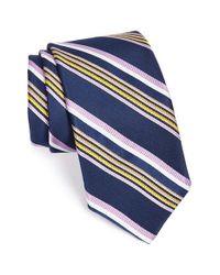 Robert Talbott - Blue 'best Of Class' Woven Silk Tie for Men - Lyst