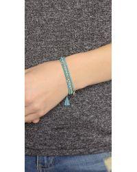 Tai | Blue Wishbone Bracelet Set - Teal | Lyst