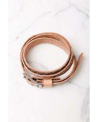 Ecote - Pink Studded Belt - Lyst