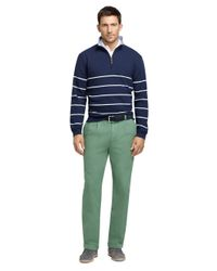 Brooks Brothers - Green Elliot Fit Garment-dyed Chinos for Men - Lyst