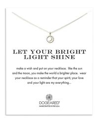 Dogeared | Metallic Let Your Bright Light Shine Pendant Necklace | Lyst