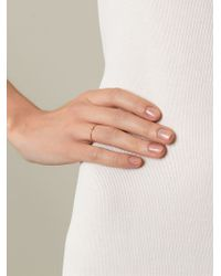Wouters & Hendrix - Pink Single Diamond Ring - Lyst