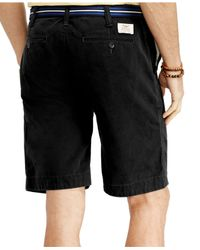 Polo Ralph Lauren - Black Relaxed-fit Twill Surplus Short for Men - Lyst