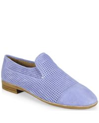 Jeffrey Campbell - Blue Punched Flat - Lyst