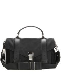 Proenza Schouler - Black Ps1 Medium Nylon Shoulder Bag - Lyst