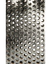 Rebecca Taylor - Metallic Loeffler Randall Large Perforated Cosmetic Bag - Lyst