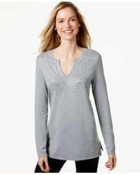 Charter Club | Gray Only At Macy's | Lyst