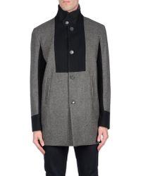 Alessandro Dell'acqua | Black Coat for Men | Lyst