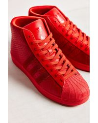 Adidas | Red Mono Pro Model Sneaker | Lyst